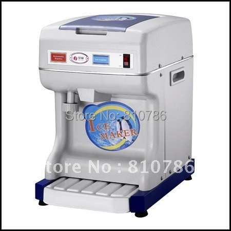 Commercial Automatic Ice Crusher Machine,Adjustable fineness with Stainless steel blade