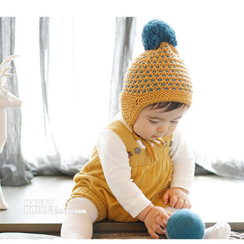 Newborn Photography Prop Crochet Hats Handmade Baby Costume Knitted Beanies Hat Caps