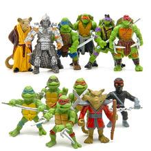 TMNT teenage mutant ninja turtles action figures set 2016 New TMNT Tees action figure 1988 Leonardo neca revoltech  party supply(China (Mainland))