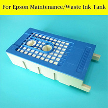 1 PC Maintenance Tank Box For EPSON Surecolor T7411 F6070 F7070 F7000 T3200 T5200 T7200 Printer Waste ink Tank