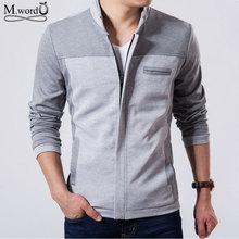 2016 Fashion Casual brand Men's Jackets Cotton Outwear Men's jacket Coats slim Fit Style Designer 4 color M-3xl(China (Mainland))