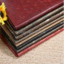 Faux Embossed pvc leather fabrics, Chinese classical  leather fabrics,artificial leather sofas, handmade diy materials.(China (Mainland))