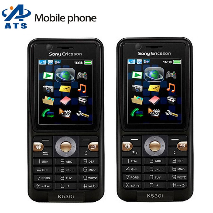 K530i Original Sony Ericsson K530 K530i Mobile Phone Russian keyboard Support Mobile Phone Frree Shipping(China (Mainland))