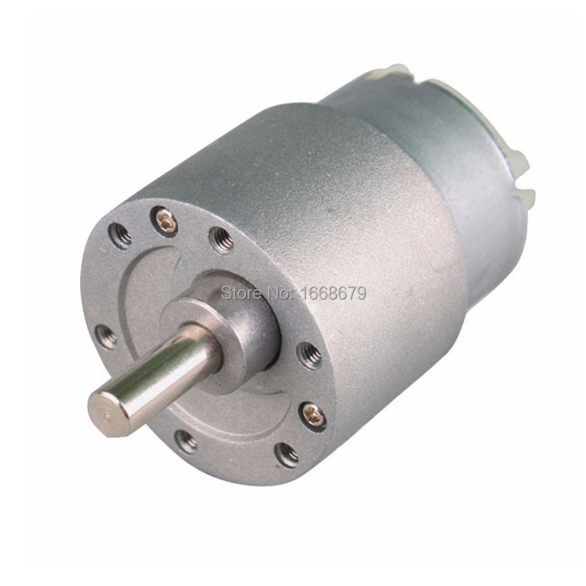 37mm high torque 150rpm 12v dc electric gear motor for rc Gearbox motors