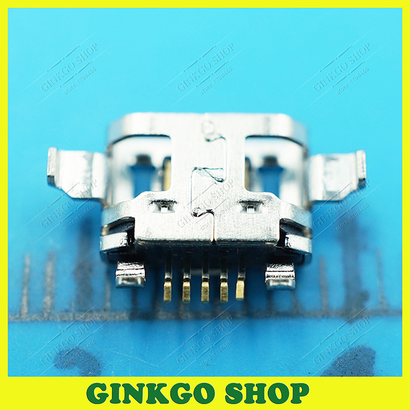 100pcs/lot Commun Micro 5P USB jack socket connector, 5Pin 2 DIP foot High Quality for phone Tablet ect Free shipping<br><br>Aliexpress