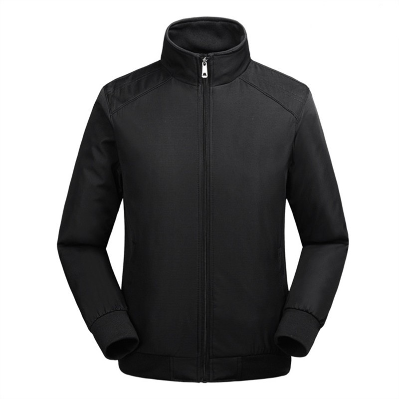 Hot autumn and winter jackets high-quality men's jacket men stitching casual coat jacket M-3XL sport suit outdoor windproof
