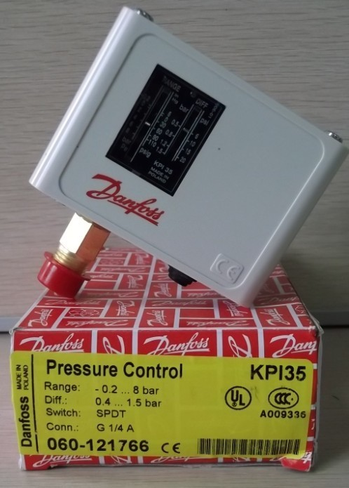 Free Shipping KPI35 060-1217 DANFOSS Pressure controller switch relay  Pressure switch Automatic reset G1/4A 0.2~8bar<br>
