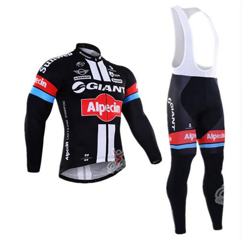 2017 new giants bicycle warm winter clothes sweater long-sleeved clothes brand Sportwear hot Flleece Mtb Bike(China (Mainland))