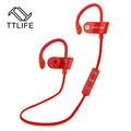 2016 TTLIFE Brand Stereo Earbuds Noise Reduction Earpiece With Mic Wireless Earphones Bluetooth 4 1 Sports