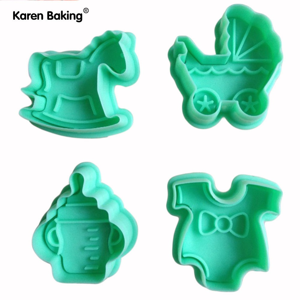4PCS Baby Furniture Shape / Cake / Cookie Mold / Die Manual Work -A100(China (Mainland))