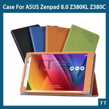 For ASUS Zenpad 8.0 Leather Stand Case Cover For ASUS Zenpad 8.0 Z380 Z380KL Z380C Tablets case+free screen protestor+touch pen