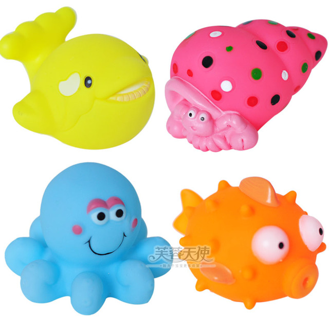 Baby bath toys small animal cartoon car traffic tools beastkind 0.1