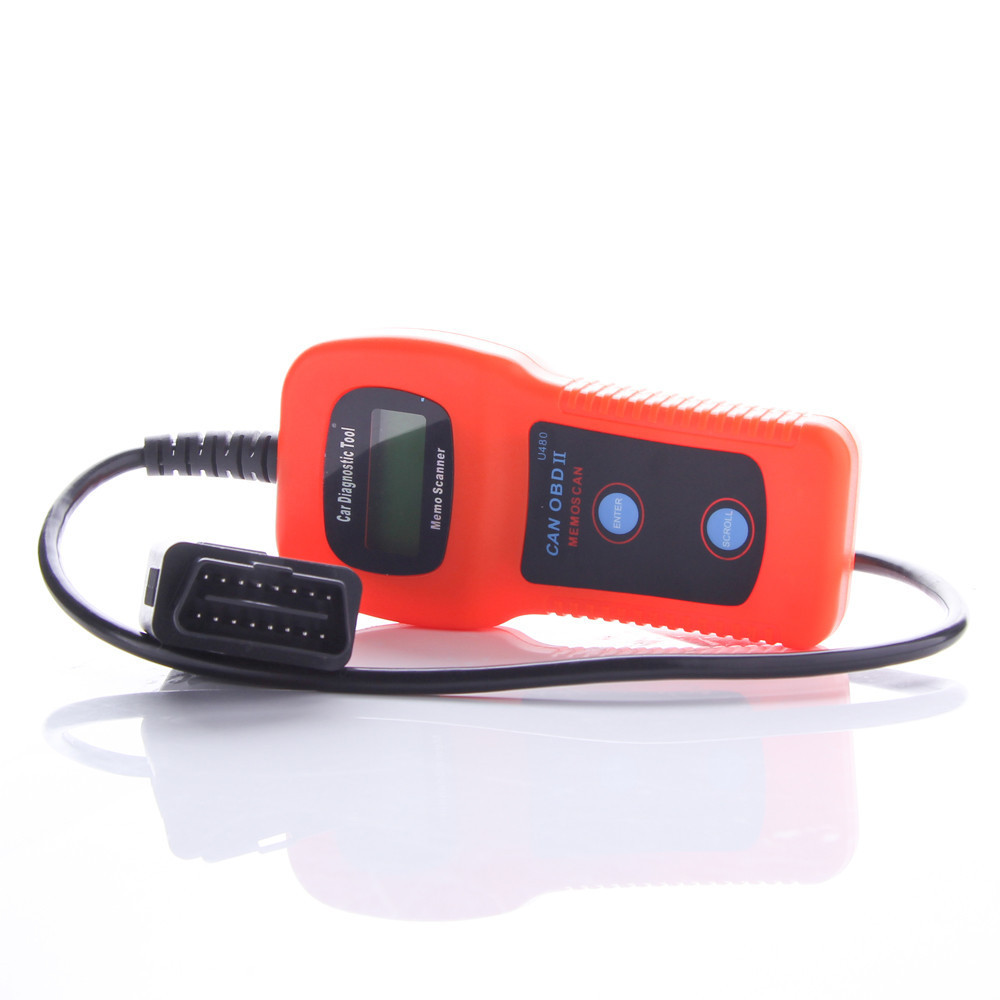 Free shipping U480 OBD2 OBDII Car/Truck AUTO Diagnostic Engine Scanner Fault Code Reader(China (Mainland))