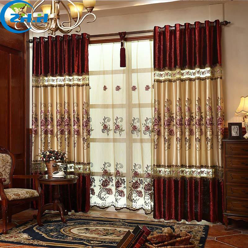 Buy single panel curtain for living for Hotel drapes for sale
