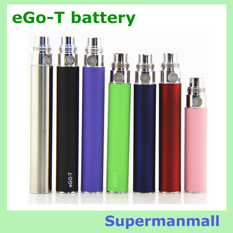 3pcs eGo T battery Rechargeable Electronic Cigarette Ego T 650Mah/900mah/1100Mah Ego vaporizer 510 Thread fit ego CE4 CE5 mt3<br><br>Aliexpress