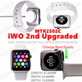 Hot Sale iWO 1 1 Upgrade Version MTK2502C 42MM New iWO 1 1 Upgraded iWO 2nd