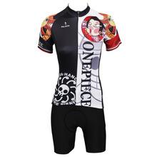 Cycling Jersey Set Women Anime One Piece Boa Hancock Cycling Clothing Women T-shirt Short Sleeve Women Cycling Clothes Jersey(China (Mainland))