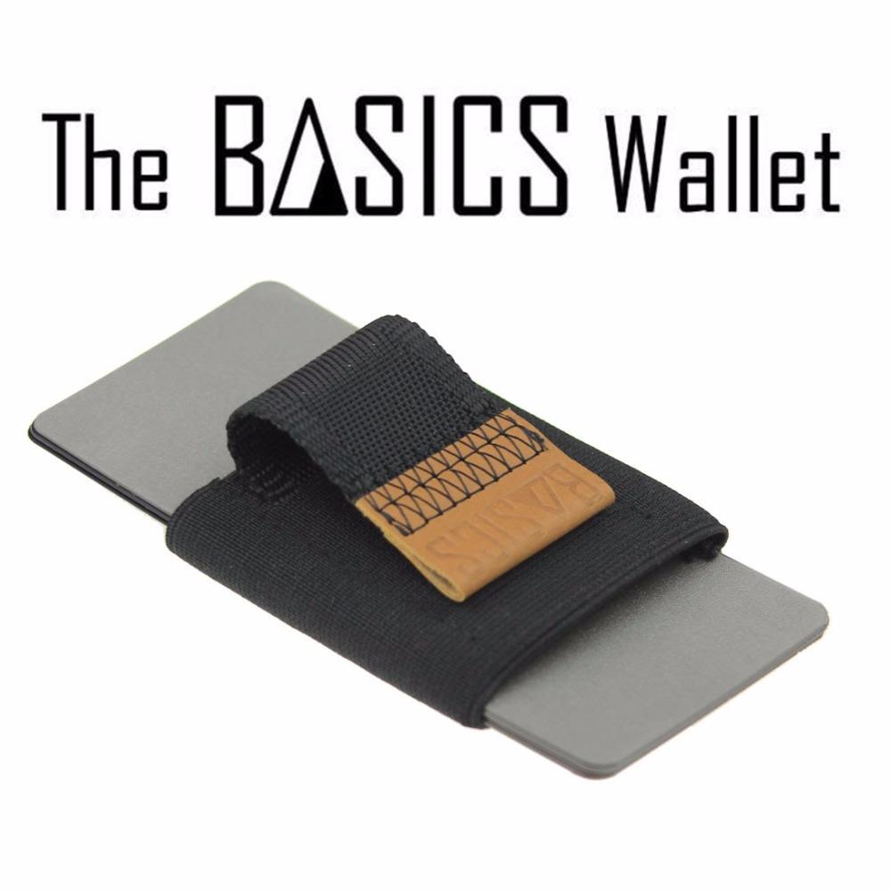Free Shipping 1Piece Basics Wallet A pull-tab minimalist wallet / Money Clip(China (Mainland))
