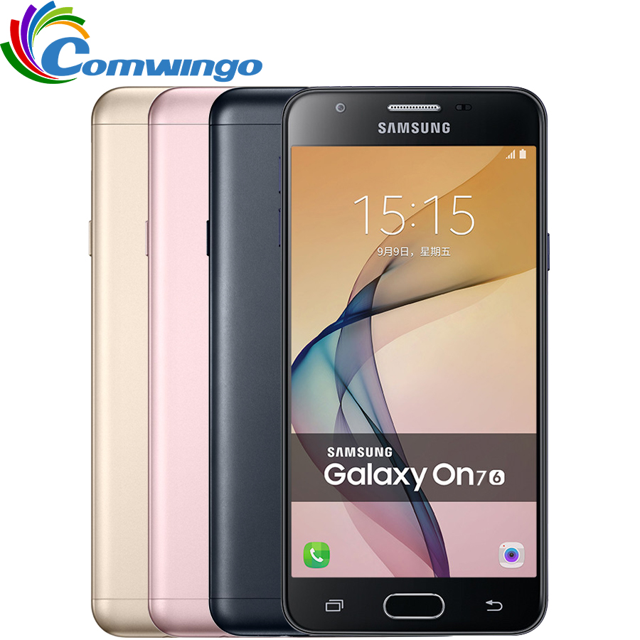 New Samsung Galaxy On7(2016) G6100 Cell Phone 3300mAh 3G RAM 32G ROM Octa Core 5.5''13MP 1920x1080 Dual SIM 4G LTE Mobile phone(China (Mainland))