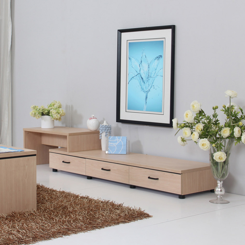Free shipping Modern tv cabinet brief furniture cabinet aigui retractable  combination tv cabinet living room cabinet - Cabinet Electric Picture - More Detailed Picture About Free