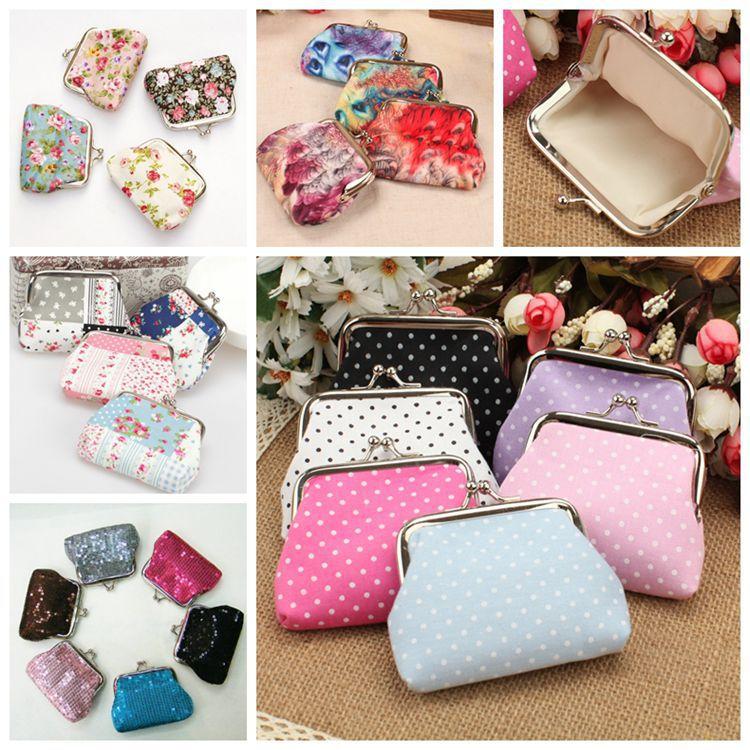 women coin purses!Lovely women change purse,children's clutch wallets,coin bags mini Female money bags hasp zero wallets(China (Mainland))