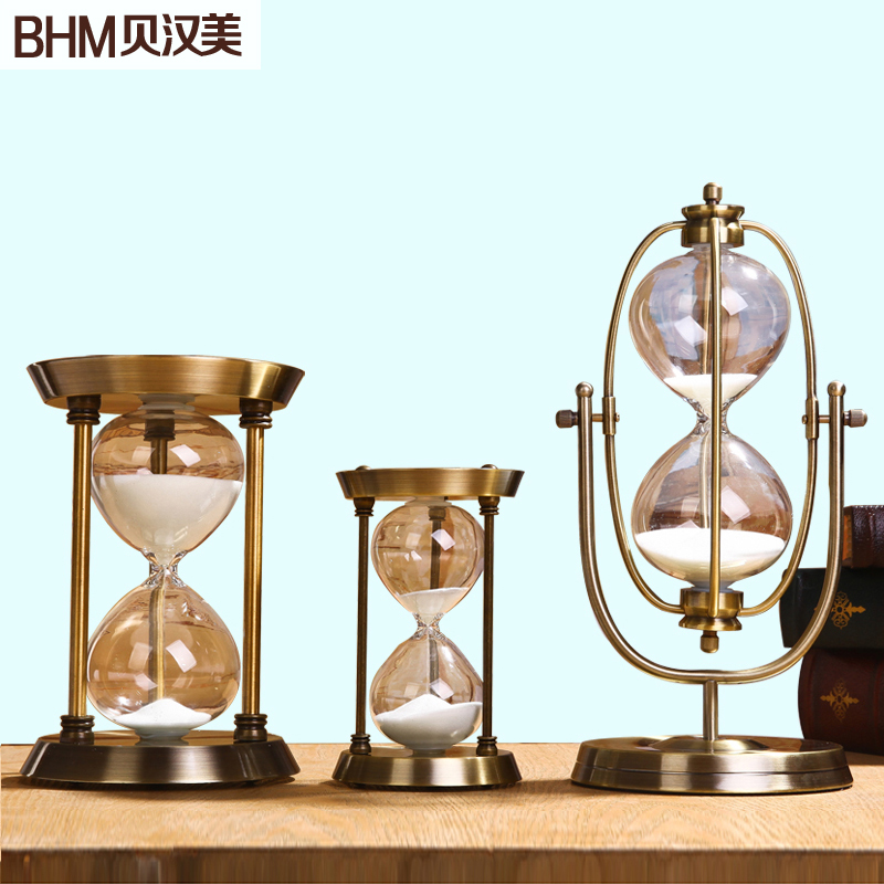 Здесь можно купить  Hourglass metal ornaments home decorations modern minimalist Scandinavian decorations living room soft furnishings wedding gift  Обувь