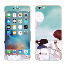Lovers back Luxury Sticker for Iphone 6 6S Plus Screen Protector Anti knock iphone6 iphone6s 5.5″ smart phones cover film