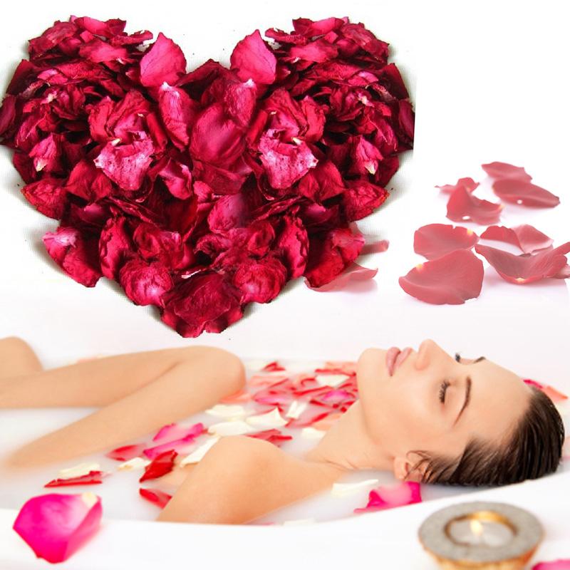 250g Pure natural premium rose petals shower Dried rose petals petals shower bathA2
