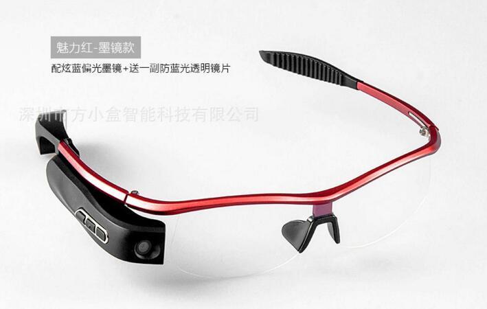 OZero 2016 Smart Glasses with Camera Bluetooth connect WIFI Video Record SMART E