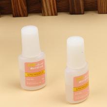 Nail Art Glue Tips Glitter Uv Acrylic Rhinestones Decoration With Brush Nail Glue Drop Shipping NA-005277(China (Mainland))