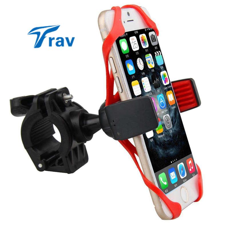 Motorcycle Bicycle MTB Bike Handlebar Mount Holder Universal For Cell Phone GPS Color Random(China (Mainland))