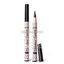 Hot selling Black New Cosmetics Makeup Not Dizzy Waterproof Liquid Eyeliner Pencil f014