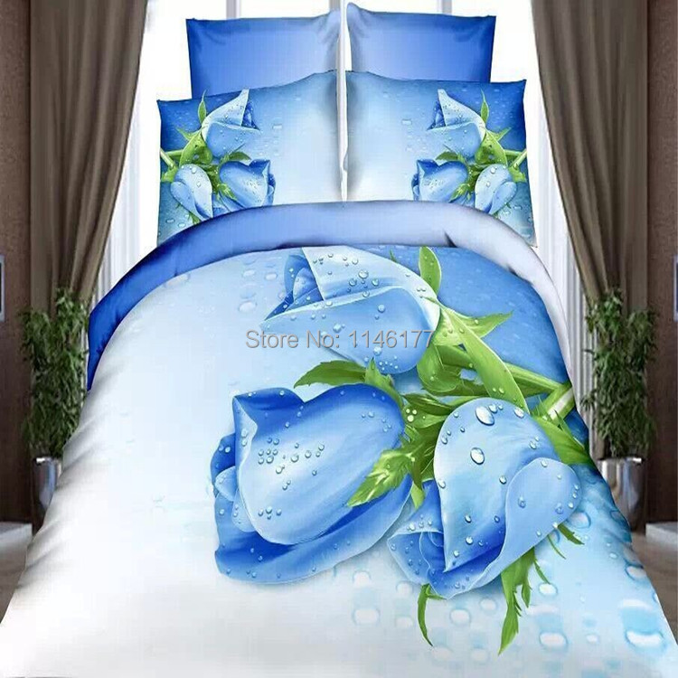 Online buy wholesale tulip bed sheet from china tulip bed for Housse couette foot
