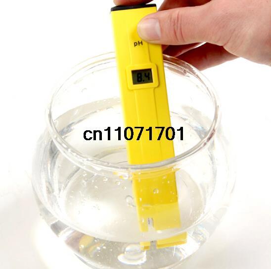 High quality Digital PH meter tester Pen Aquarium Pool Water Drink water portable(China (Mainland))