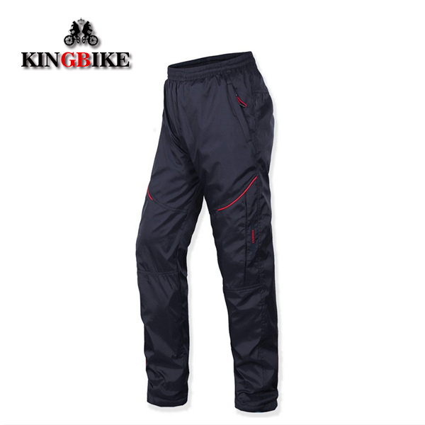 Free Shipping KINGBIKE Winter Cycling Hiking Bike Bicycle Long Warm Fleece Pants <br><br>Aliexpress