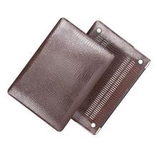 10pcs/lot Luxury Crocodile Pattern Hard Case Shell Laptop Bag For Apple Macbook Air Pro Retina 11.6 12 13.3 15.4 inch