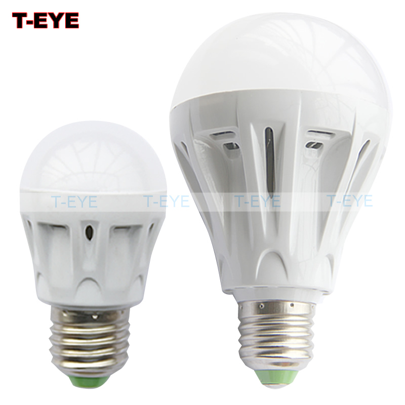 e27 base Human body induction led lamp 3w 5w 7w 9w 12w aisle sensor light energy-saving led bulbs ac 110v 220v led light(China (Mainland))