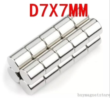 7*7 2 7mm x Craft Model Powerful Strong Industrial Rare Earth Disc NdFeB Magnet Neo Neodymium N35 Magnets - China magnets company store