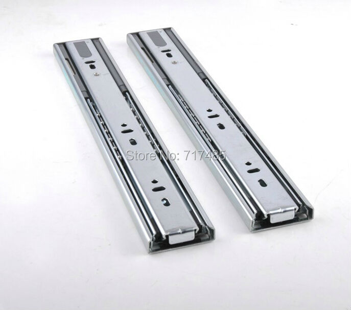 "16"" 40cm Two Smoothly Mute Drawer Slides(China (Mainland))"