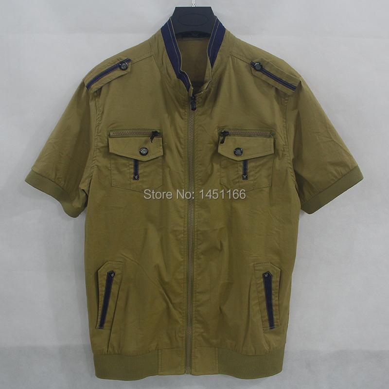 Cheap Men's Designer Clothes Online Shirt Slim Fit Men Shirt