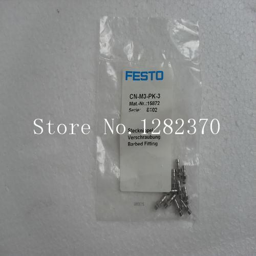 [SA] New original authentic special sales FESTO connector CN-M3-PK-3 spot 15872 --20pcs/lot(China (Mainland))