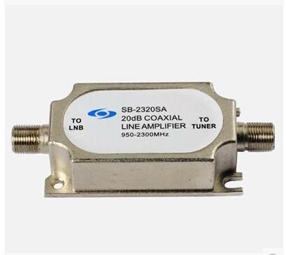 Satellite signal amplifier 2320SA satellite pot amplifier satellite TV signal booster(China (Mainland))