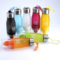 Sport Lemon Juice Bottle Juices Fruit Bottles My Camping Colorful Health Bottle Shaker Frosted Plastic Outdoor
