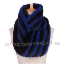 CX-S-170E New 2015 High Quality Designal Scarf Real Mink Fur Ladies Fashion Scarves(China (Mainland))