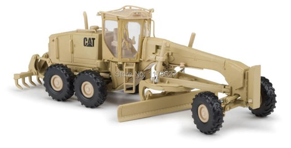 Norscot 1:50 caterpillar cat military 120M motor grader die cast model 55252(China (Mainland))