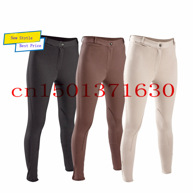 Model Herms SuedeTrimmed Riding Pants  Pants  HER52685  The RealReal