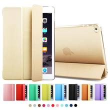 ZOYU Ultra Slim PU Leather Case for ipad 6 Back for ipadmini Case for iPad mini 123 cover case smart for ipad air 2 case(China (Mainland))