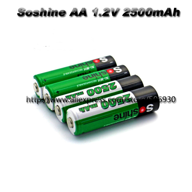 SC 2500mah 1.2V NiMH Rechargeable AA Battery Pack(China (Mainland))