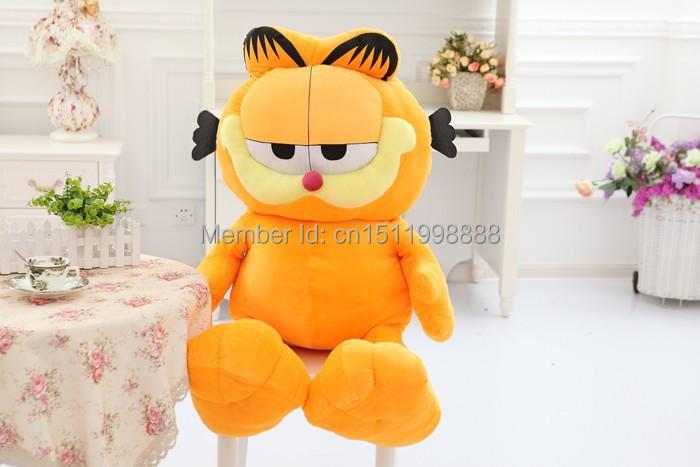 60cmCute cartoon cat Garfield Plush toys children's birthday gift(China (Mainland))