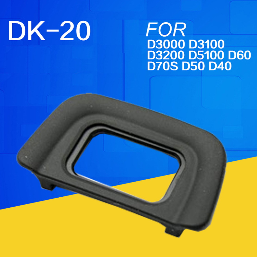 DSLR Eyecup DK-20 Rubber Eye Cup Eyepiece For Nikon D5000 D3100 D3000 D80 D70 D70S D60 D50 D40 D40x F80 F75 F65 F60 F55 F50(China (Mainland))
